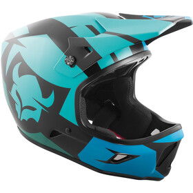 TSG Advance Graphic Design Helmet interval green blue